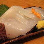 魚魚亭 - 料理写真:2018年10月 白イカ