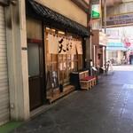 天ぷらすずき - 外観@2018/9