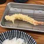 天ぷらすずき - えび天・2018/9