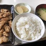 五郎八 - ホルモン定食1100円