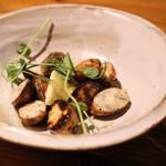 炭火焼き鳥 鶏尽 - 炭焼き野菜 アピオス 490円