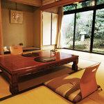 野むら山荘 - 完全個室、座卓・椅子席もあります