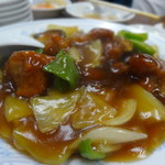 栄楽 - 酢豚