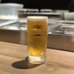 個室居酒屋×海鮮炉端焼き 喰海 - 生ビール