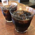 シルビア珈琲店 - アイスコーヒー×2