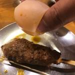門司港 - 生卵を持ち上げるの巻