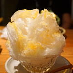 祇園NITI - 季節のかき氷  桃