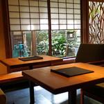 祇園NITI - テーブル関