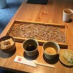板蕎麦 香り家 - おためし蕎麦切り、湯葉と生姜の炊き込みご飯