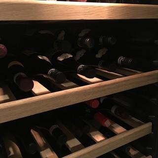 豊富なワインをご用意◆料理に合ったペアリングもご案内致します