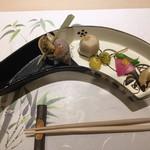 鮨 天海 - 前菜盛り合わせ5種