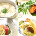 お料理 御厨 - ランチのおまかせ料理 鯛めしコース