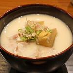 朝食 喜心 - 京白味噌の豚汁