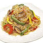 神戸クックワールドビュッフェ - 『冷製チャプチェ』 ごま油の風味が食欲をそそる♪