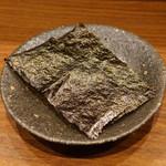 朝食 喜心 - 焼き海苔