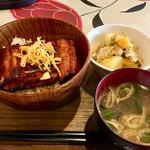 とんぼ - 料理写真:これがなんと¥600の「うなぎ定食」です!!