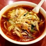 東林 - 老酒入り辣サンマー麺