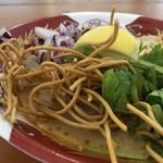 麺屋 サマー太陽 - 揚げ麺(大つけ麺博2018)