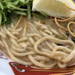 麺屋 サマー太陽 - 麺は宮古そば(大つけ麺博2018)