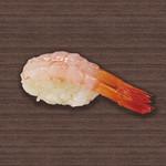 すしざんまい - 甘えび 1個148円(税別)