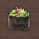 すしざんまい - オクラ 1個128円(税別)