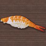 すしざんまい - 海老 1個128円(税別)