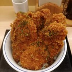 かつや - タレカツ丼(松)640円