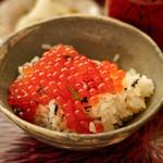 日本料理 晴山 - 料理写真:いくらごはん