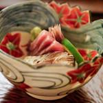 日本料理 晴山 - お造り