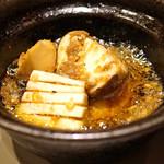 93968734 - 車海老と松茸のアヒージョ