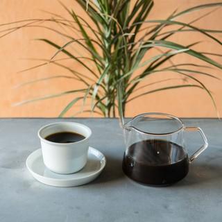 焙煎から抽出までこだわったコーヒーを