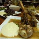 CAVO - ラムすね肉のグリル