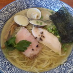 麺SAMURAI 桃太郎 - 【平日限定】奥州いわい鶏はまぐり塩