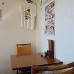 麺SAMURAI 桃太郎 - 店内