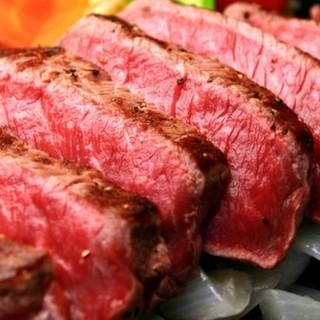 """◆""""がんじゅう""""になれるみんさぁの美崎牛ステーキ"""