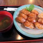 一峰 - べっこう寿司1100円