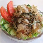 ヤオカネ - サラダうどん