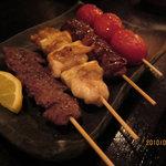 nabenoren - 串焼き 鳥レバー特に美味しい