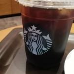STARBUCKS COFFEE - アイスコーヒー(徹)¥320+税