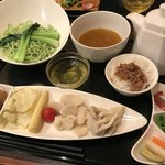 天香回味 - 〈2018年9月〉薬膳翡翠湯麺セット(辛口)