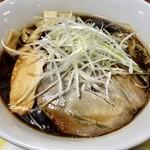 鶏 ソバ カモシ - 鶏soba醤油ラーメン(催事場ver.)
