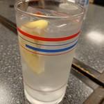 こじま食堂 - 2018年9月 レモンハイ 500円