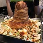 新宿美食倶楽部 AMANOGAWA - 「灼熱の鉄板豚焼き」(3時間飲み放題3000円コース)