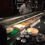 93986515 - お寿司カウンター