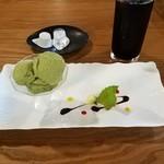 ソニョーポリ - 抹茶のジェラート(セット)
