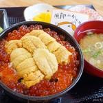 樺太食堂 - 2018年8月 生うに丼【2808円】