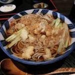 勘十郎 - 料理写真:たぬき