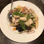 點點心 - イカの野菜炒め