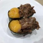 かっぱ寿司 - 牛しぐれ軍艦