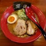 白馬童子 極 - しあわせらぁ麺(750円)